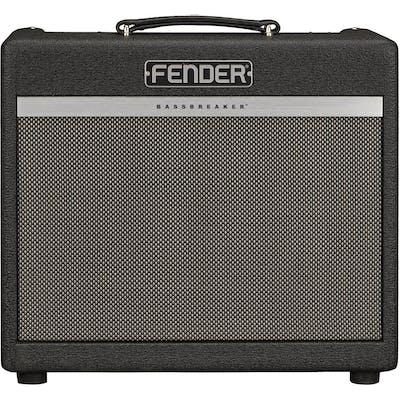 Fender Bassbreaker 15 1x12 Guitar Tube Amp Combo in Midnight Oil