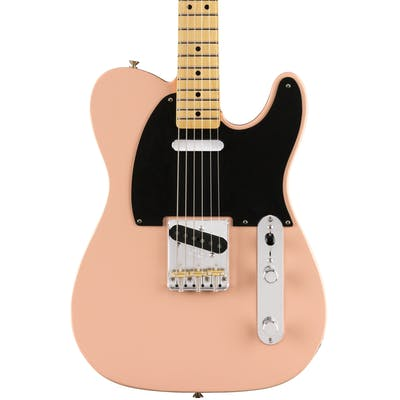 Fender Classic Player Ltd Edition Baja Telecaster in Shell Pink with Maple Neck