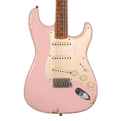 Fender Custom Shop 59 Strat Heavy Relic in Shell Pink MN