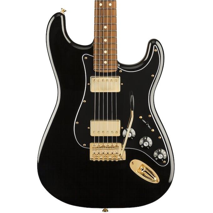 Fender Limited Edition Mahogany Blacktop Strat in Black w ... on
