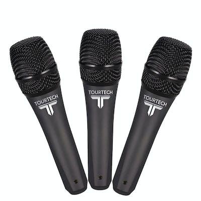 TourTech VM50 Dynamic Microphone 3-pack