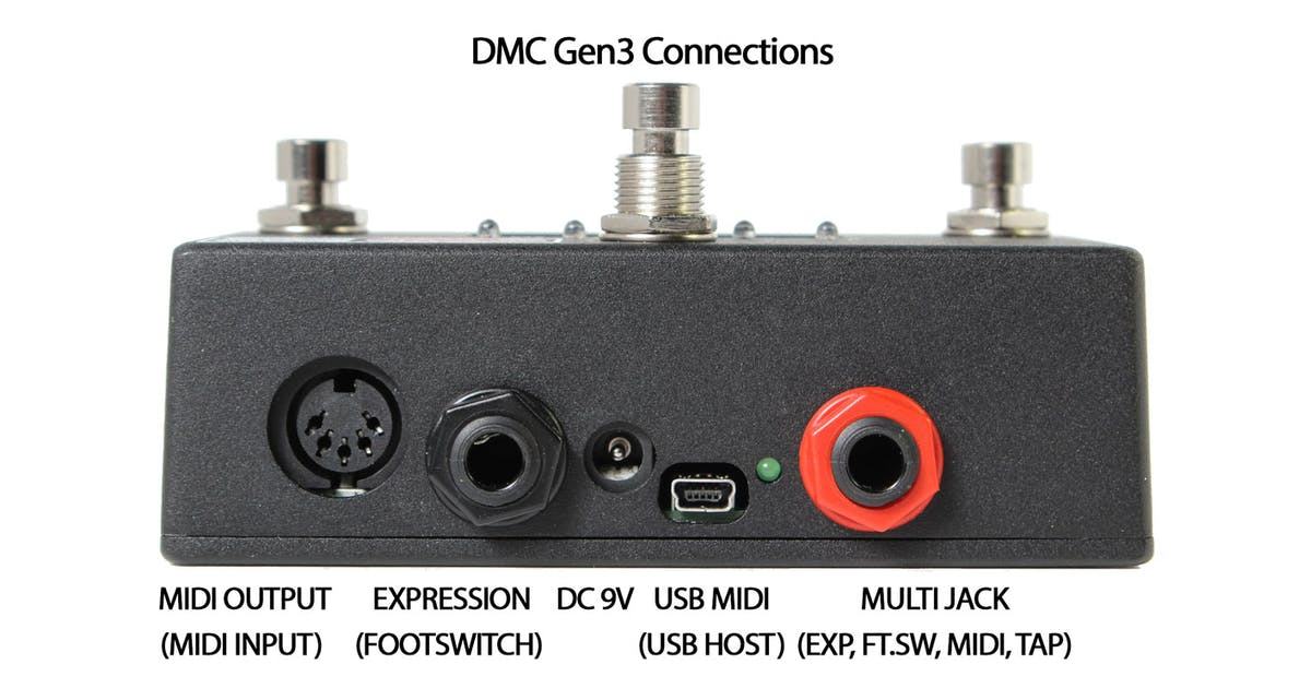 Disaster Area DMC-3XL Gen3 MIDI Controller for Guitar Pedals - Andertons  Music Co