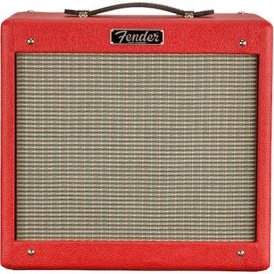 Fender Pro Junior IV Valve Combo Amp in Brit Red with Celestion G10 Speaker