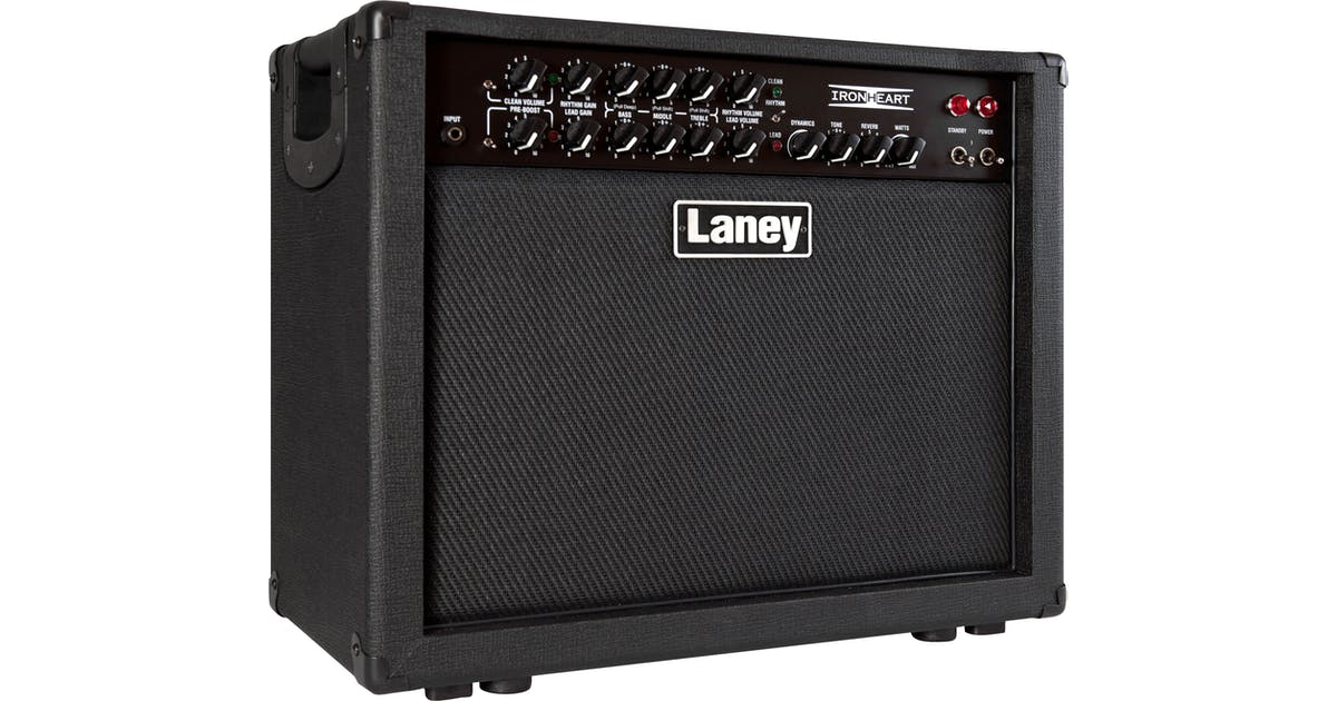 Laney Iron IRT30-112 30w 1x12 Combo - Andertons Music Co. on