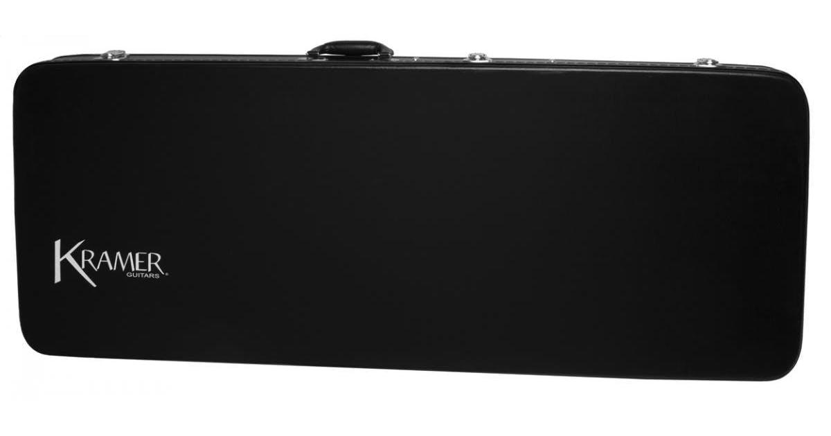 kramer vanguard hard shell case black andertons music co. Black Bedroom Furniture Sets. Home Design Ideas