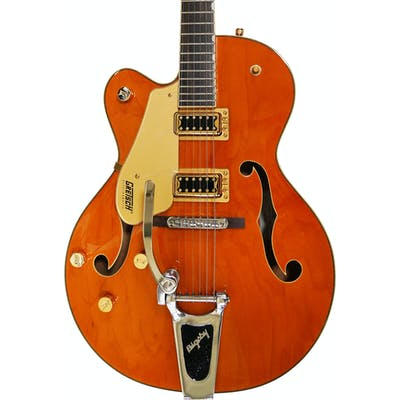 Gretsch G5420TGLH-59 Electromatic Hollow Body Left Handed in Vintage Orange Stain
