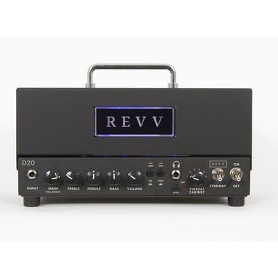 Revv D20 20w Lunchbox Tube Amp with built in Two notes Torpedo Reactive Load and Cab Simulation