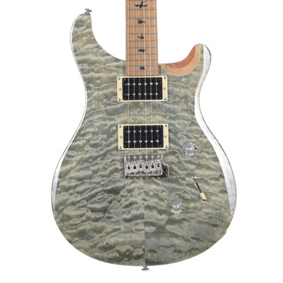 PRS SE Custom 24 Ltd Edition in Trampas Green with Roasted Maple Neck