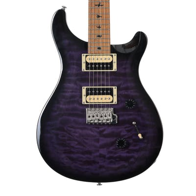 PRS SE Custom 24 Ltd Edition in Purple Burst with Roasted Maple Neck