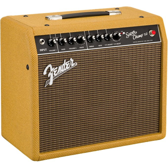 Fender FSR Super Champ X2 Combo in Lacquered Tweed