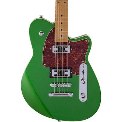 c27f3b18d2 Reverend Flatroc Guitar in Metallic Emerald