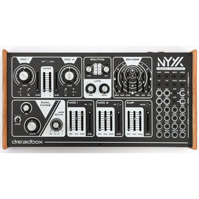 Dreadbox Nyx V2 Semi-modular Analog Paraphonic Synthesizer