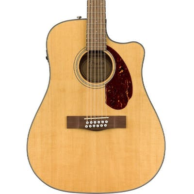 Fender CD-140SCE Dreadnought Electro Acoustic 12-String in Natural