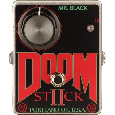 Mr Black Doomstick II Fuzz Pedal