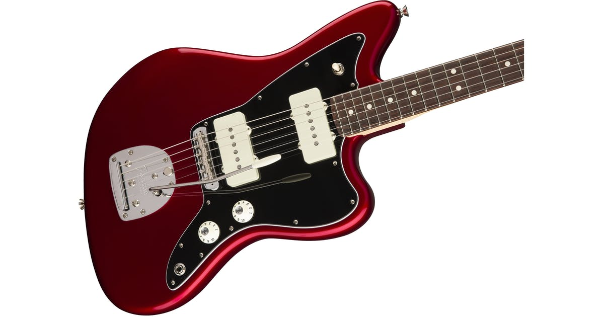 fender american professional jazzmaster rw in candy apple red andertons music co. Black Bedroom Furniture Sets. Home Design Ideas