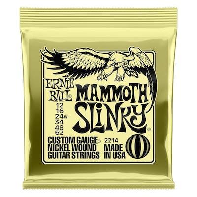 Ernie Ball Mammoth Slinky Electric Guitar Strings 12 - 62