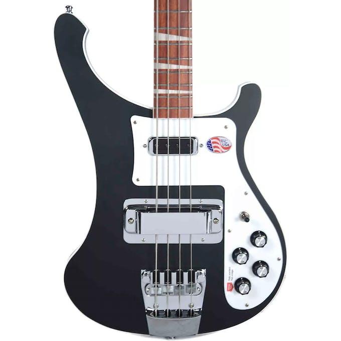 Rickenbacker 4003 Bass Guitar in Matte Black - Andertons Music Co