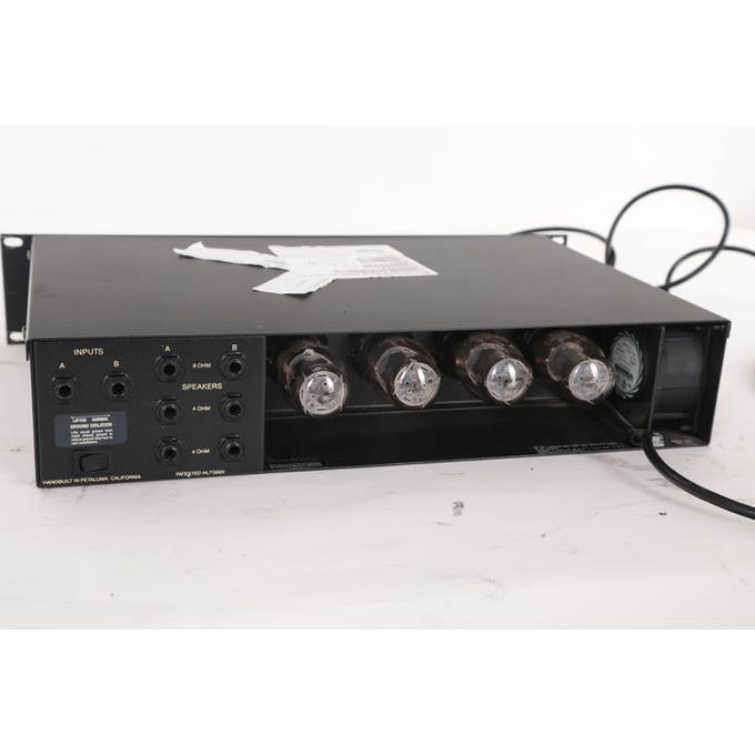 Second Hand Mesa 50/50 Stereo Power Amp Rack - Andertons