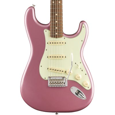 Fender Vintera '60s Strat Modified in Burgundy Mist Metallic