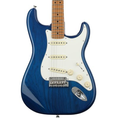 Fender FSR Limited Edition American Professional Stratocaster in Sapphire Blue with Roasted Maple Neck