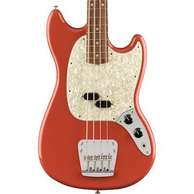 Fender Vintera '60s Mustang Bass in Fiesta Red