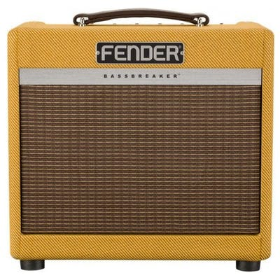 Fender Bassbreaker FSR 007 Limited Edition Valve Combo Amp in Lacquered Tweed