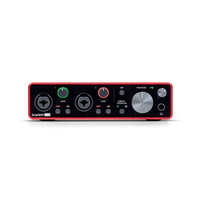 Focusrite Scarlett 2i2 3rd Generation USB-C Audio Interface