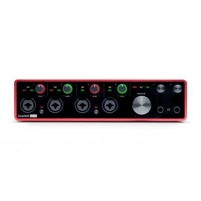 Focusrite Scarlett 18i8 3rd Generation USB-C Audio Interface