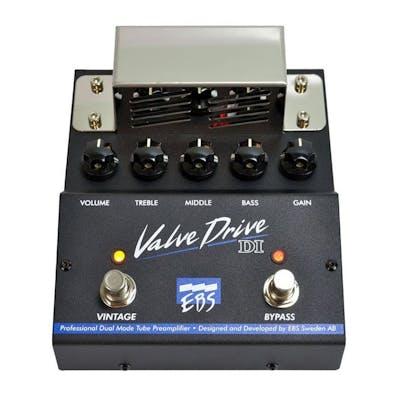 EBS Valve Drive bass preamp pedal