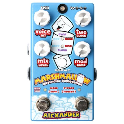 Alexander Pedals Marshmallow Pitch Shifter Pedal