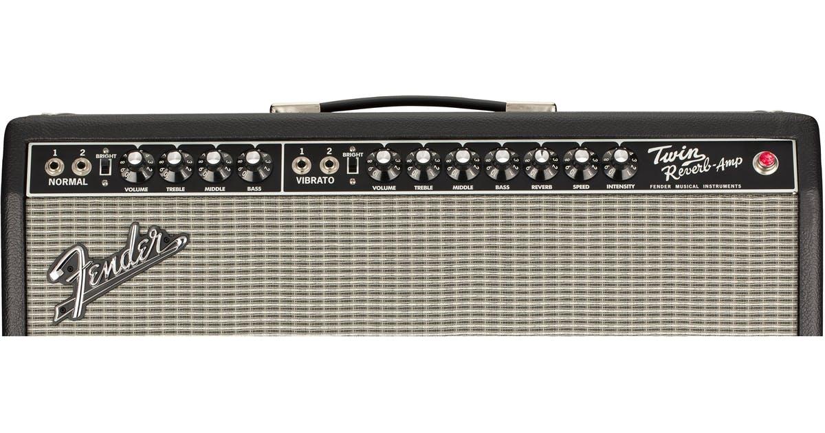 fender tone master twin reverb 2x12 modelling guitar amp combo andertons music co. Black Bedroom Furniture Sets. Home Design Ideas