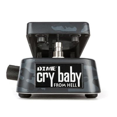 Jim Dunlop Dimebag Darrell Signature Cry Baby From Hell Wah Pedal in Black Camo