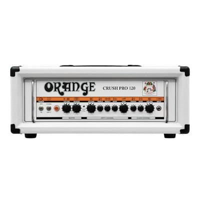 Orange Crush Pro CR120 Head Limited Edition White