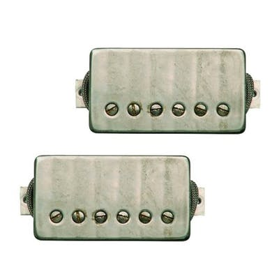 Bare Knuckle The Mule Humbucker Set | Nickel Covers | 6 String