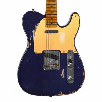 Fender Custom Shop '52 Tele in Metallic Purple Heavy Relic with Large U Neck