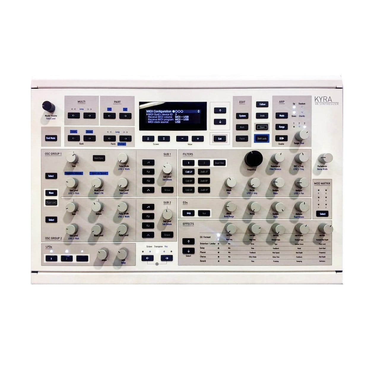 Waldorf Kyra 128 Voice FPGA Virtual Analogue Synth - Andertons Music Co