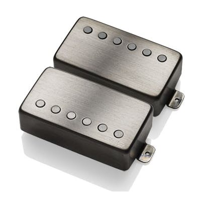 EMG Pickups JH HET Set James Hetfield Signature Set in Brushed Black Chrome