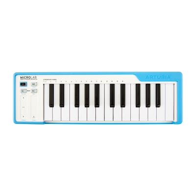 Arturia Microlab 25 Key Controller Keyboard in Blue