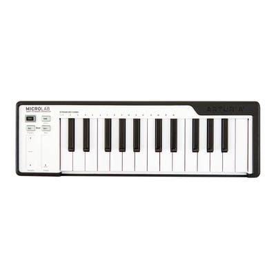 Arturia Microlab 25 Key Controller Keyboard in Black