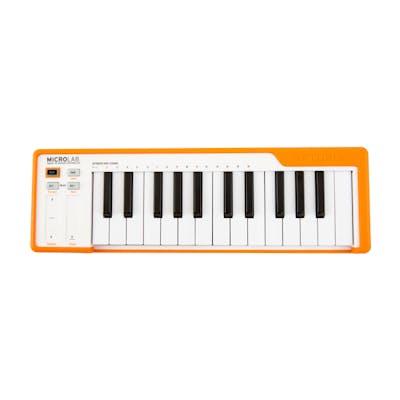 Arturia Microlab 25 Key Controller Keyboard in Orange