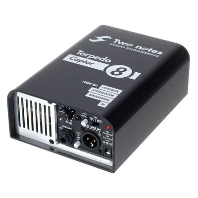 Two Notes Torpedo Captor 8 Ohm Compact Loadbox and Amp DI