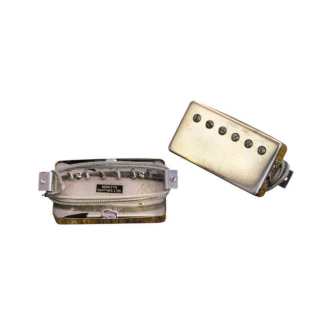 Montys Guitars Paf Aged Gold Pickup Set Andertons Music Co