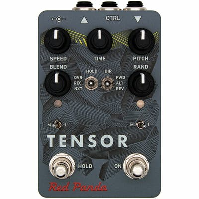 Red Panda Tensor Tape, Reverse and Pitch Shifter Pedal