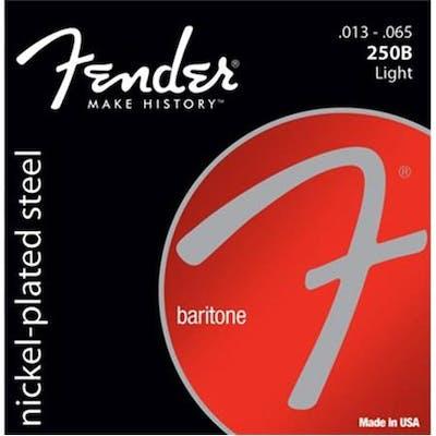 Fender 250 Nickel Plated Steel Baritone Strings