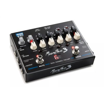 EBS Micro Bass 3 Preamp / DI Box