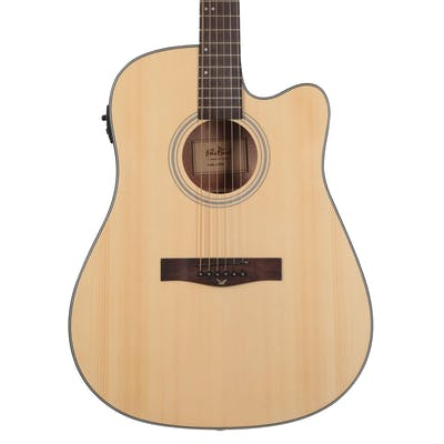 EastCoast D1CE Dreadnought Electro-Acoustic Guitar With Cutaway