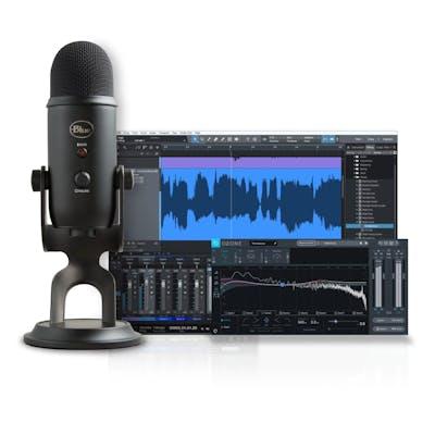 Blue Microphones Yeti Studio Blackout USB condenser microphone