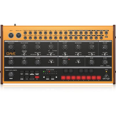 Behringer Crave Analog Semi-Modular Synthesizer with 32-step Sequencer