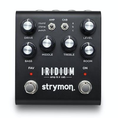 Strymon Iridium Amp & IR Cab Simulator Pedal