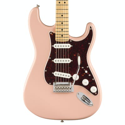 Fender FSR Player Stratocaster w/ Maple Fretboard in Shell Pink